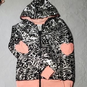 Girls zip front jacket